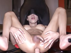 Blindfolded Impaled and Creampied